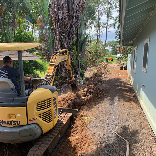 Excavation Services by Isaiah's Tree Service