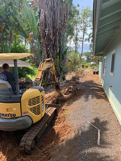 Isaiah's Tree Service Can Handle All Your Excavation and Land Clearing